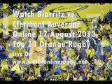 Biarritz vs Clermont Live Rugby