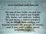 Fast Bad Credit Loans: How To Raise Some Money Quickly
