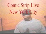 """Darnell Houston before he changed his name to Ricky Star at """"The Comic Strip Live """" New York City"""