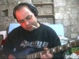 Guitare gibson sg rock blues