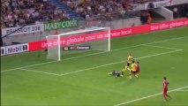 But Yassine BENZIA (35ème) - FC Sochaux-Montbéliard - Olympique Lyonnais (1-3) - 2013/2014