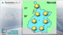 [H'Py Tv] La météo des Hautes-Pyrénées (19 août 2013)
