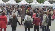 Dansons avec Estren, parvis de la mairie du 15e, fêtes de la Bretagne 2013