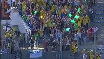 But Fabien AUDARD (17ème csc) - FC Lorient - FC Nantes (2-1) - 2013/2014
