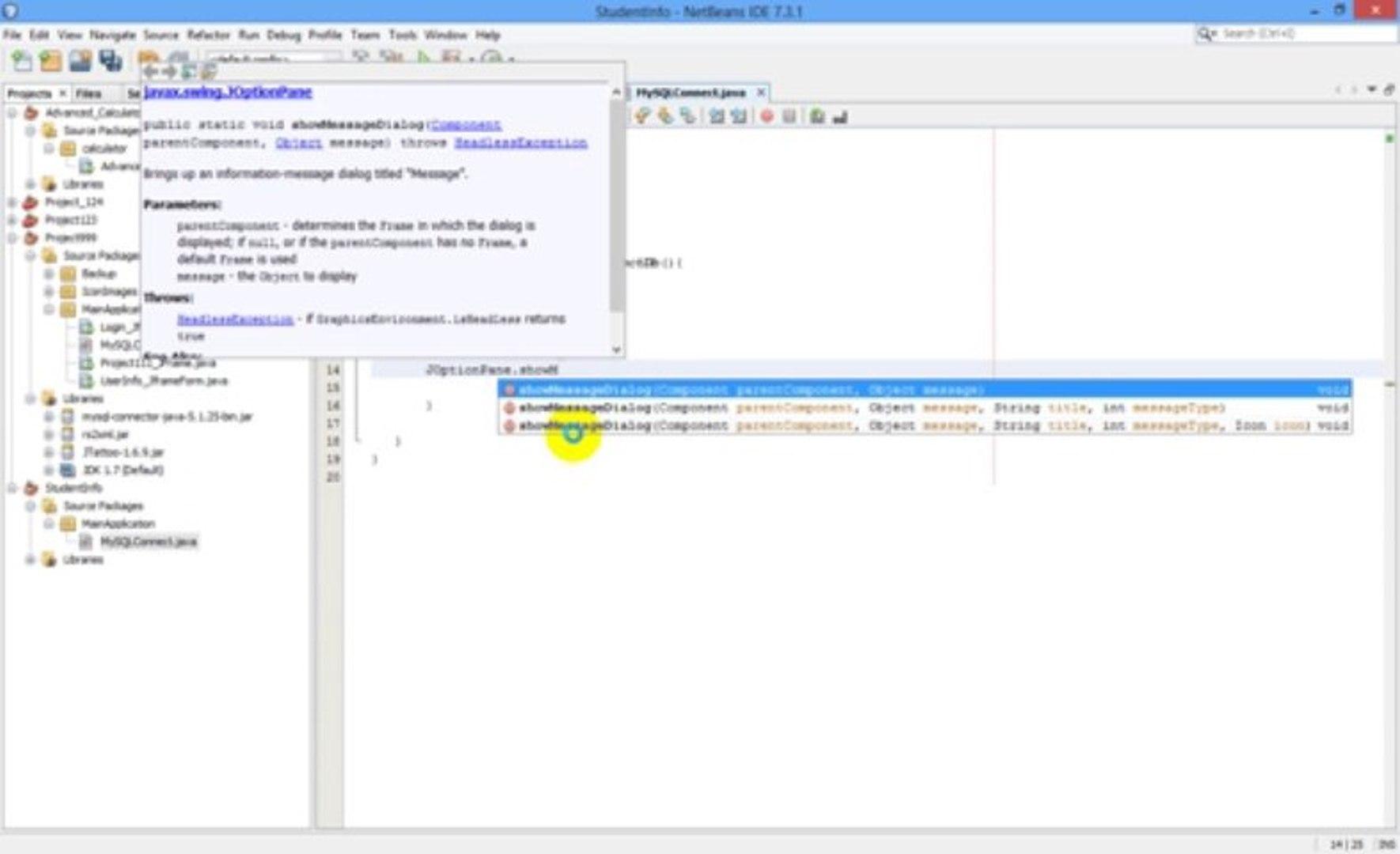 Java Netbeans Programming #2 Database connection java to MySQL