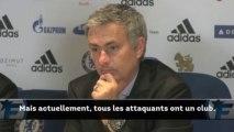 Mercato Chelsea : Mourinho confirme qu'il veut toujours un attaquant