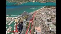 Marathon des Alpes-Maritimes 2013 : 10 novembre 2013  parcours en 3D