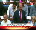 Municipalities are still currently running, so why is there a problem if everyone agrees to pass a bill? ask Nisar Khuhro