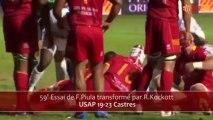 1ére journée de Top 14 : USAP vs Castres