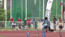 Résumé des championnats de France d'athlétisme handisport à Saint-Cyr sur Loire