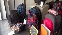 S'Cale Boutik maroquinerie bagage fête VIVE LA RENTRÉE au 28 avenue Auber Nice  face à la gare Thiers