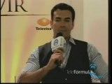 David Zepeda @davidzepeda1 y elenco hablan sobre sus personajes en la telenovela