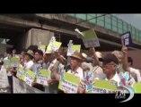 Proteste a Seul contro esercitazioni militari tra Sudcorea e Usa. Pacifisti in piazza per dire no alle simulazioni di guerra