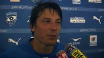 Interviews après Montpellier Hérault Rugby - Toulon : 16/08/2013