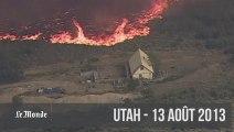 Deux semaines d'incendies ravageurs aux Etats-Unis