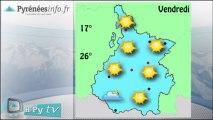 [H'Py Tv]La météo des Hautes-Pyrénées (21 août 2013)