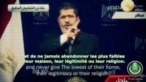 Derniers mots du président Morsi / President Morsi's last words