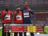 Finale 3000m steeple (H) - ChM 2013 athlétisme (MMB, Smaïl, Kowal)