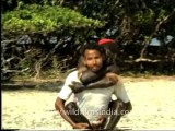1217.Darkest people in the world! Jarawas of Andaman Islands
