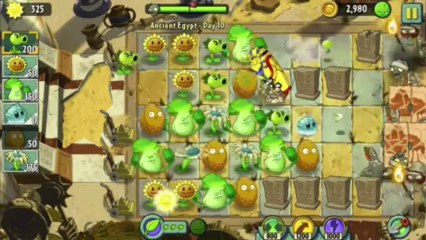 plants vs zombies 2 plants vs zombies 2 fire torch zombies gameplay walkthrough ancient egypt day 10 9 ios hd