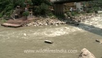 2355.Confluence of Ganga and another river in Uttaranchal