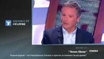 """Zapping TV - Dupont-Aignan : """"Denisot et Aphatie se foutaient de ma gueule au Grand Journal"""""""