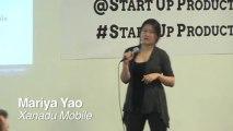 Mariya Yao speaks at Startup Product Summit SF1