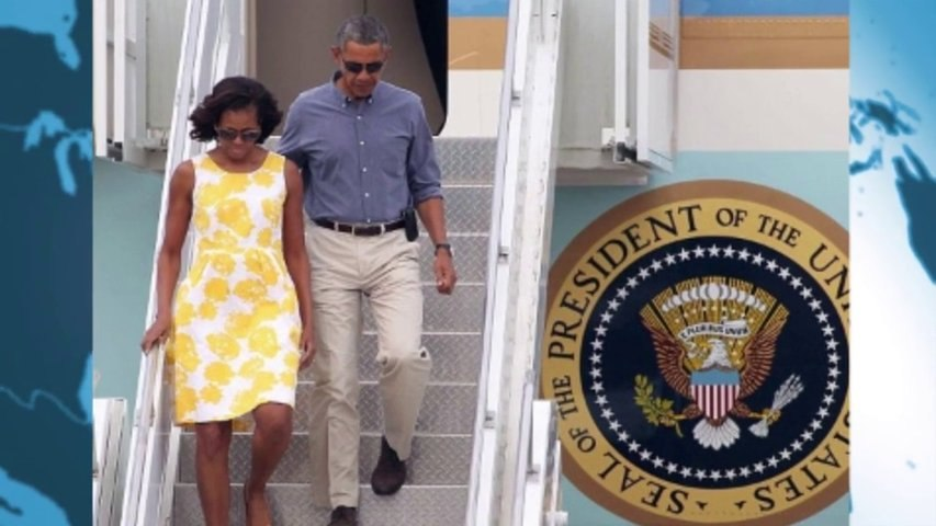 Michelle Obama steps out in a sunny yellow Talbots dress that retails for $55!