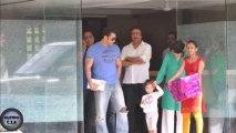 Salman Khan celebrates Raksha Bandhan