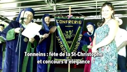 Tonneins Fête de la St-Christophe