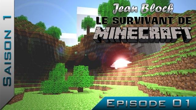 Le Survivant de Minecraft | Saison 1 - Episode 1 : Le début d'une aventure