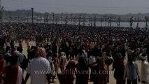 Allahabad maha kumbh mela-Shivratri-Shahi snan-hdc-tape-10-26