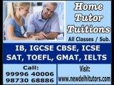 GMAT GRE TOEFL IELTS SAT HOME TUTOR TUITIONS TEACHER IN GURGAON