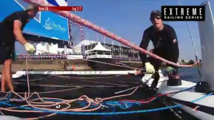 Live Cardiff: Day Four - Extreme Sailing Series