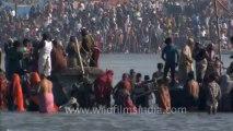Varanasi-Allahabad kumbh mela-Arti shot-hdc-tape-7-13