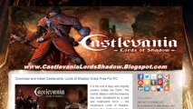 Install Castlevania: Lords of Shadow  Crack - PC