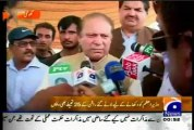 Fake Flood Relief Camp in Ghotkhi on arrival of Prime Minister Pakistan and Chief MInister Sindh