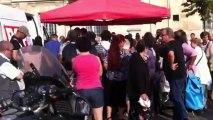 Vente militante contre la vie chère organisée par le PCF Saint-Denis