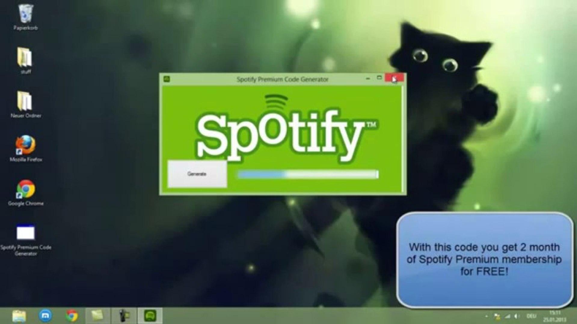 Spotify premium codes generator