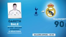 Officiel : Gareth Bale signe au Real Madrid pour 90 M€ !