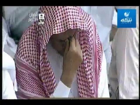 خطبة الشيخ عبدالرحمن السديس عن الاحداث في مصر و سوريا