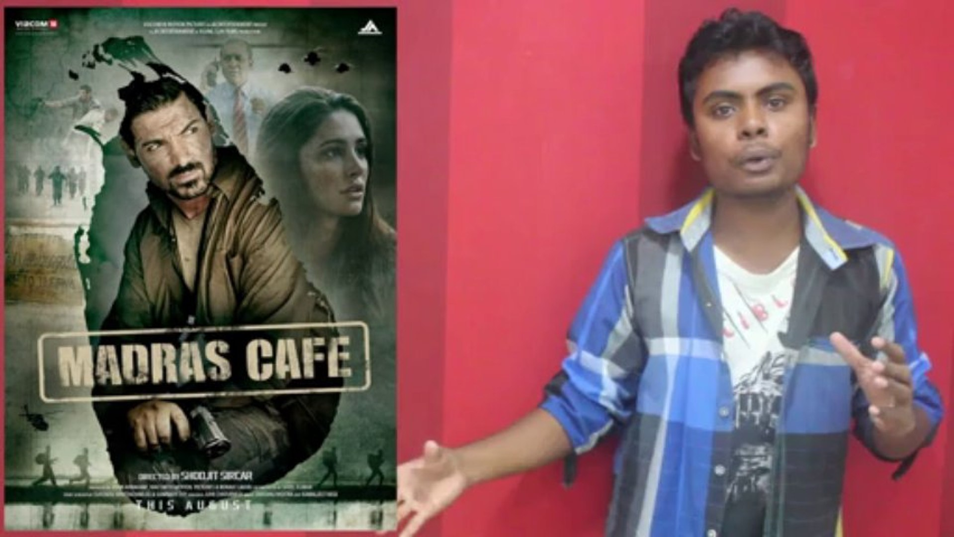 Madras Cafe Movie Review and Controversy in Tamil