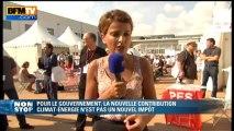 """Najat Vaullaud-Belkacem: """"la nouvelle contribution climat-énergétique n'est pas un nouvel impôt"""" - 23/08"""
