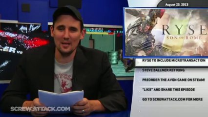 Hard News 08/23/13 - Humble Bundle, Ryse: Son of Rome, Steve Ballmer - Hard News