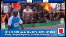 Demi-finales du Mondial à pétanque tête-à-tête 2013 : BARDOLLE vs ALENHJ puis fin de FOURNIE vs RYPEN