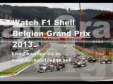 Formula One SHELL BELGIAN GP 2013 Hd Videos Stream