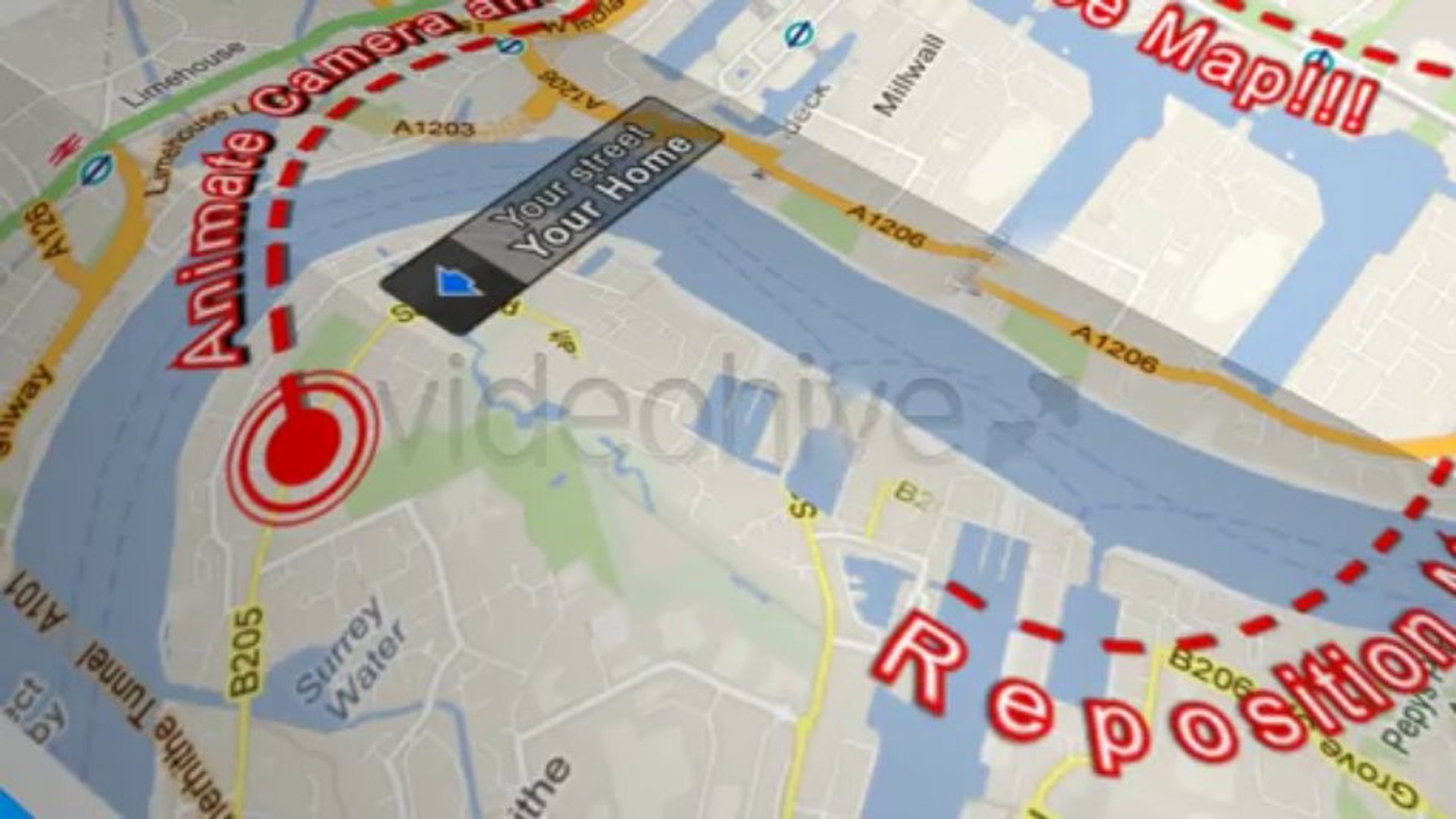 Map Locator - After Effects Template