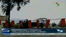 México: 5 cuerpos hallados en fosa son de secuestrados del Bar Heaven