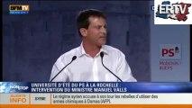 Manuel Valls invective Alain Soral et Dieudonné