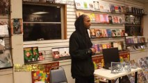 MALCOLM SHABAZZ SPEAKS ON DEATH OF GRANDMOTHER BETTY SHABAZZ _ FEBRUARY 2012